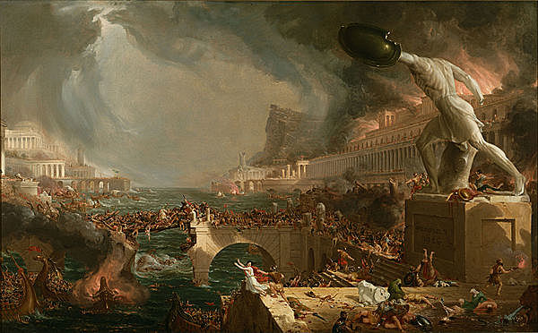 Caduta del impero romano d'occidente