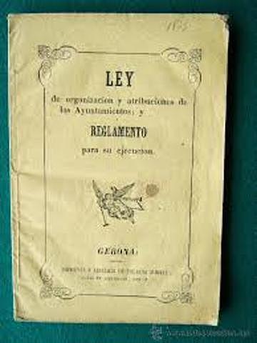 LEY DE AYUNTAMIENTOS