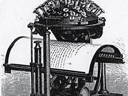 premiere machine a ecrire