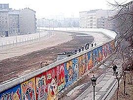 Berlinmuren lages