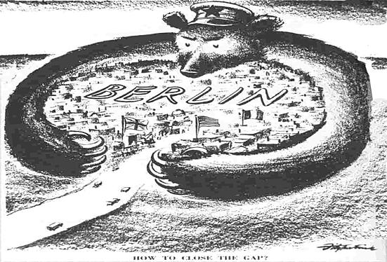 Sovjetunionen innfører Berlin-blokaden