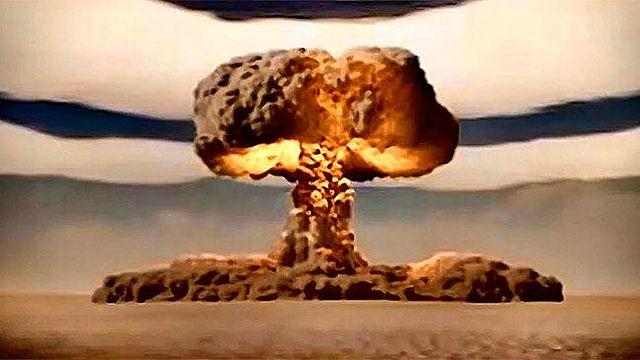 USA tar i bruk atomvåpen