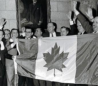 Adoption du nouveau drapeau