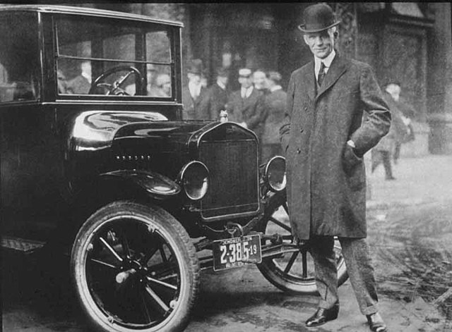 The Invention of the Model T Ford