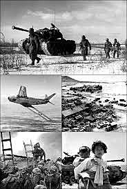 UN forces push North Korea to Yalu River- the border with China (1950)