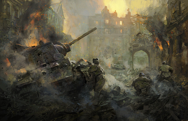 German army surrenders in Stalingrad; fisrt major defeat for Nazi Germany