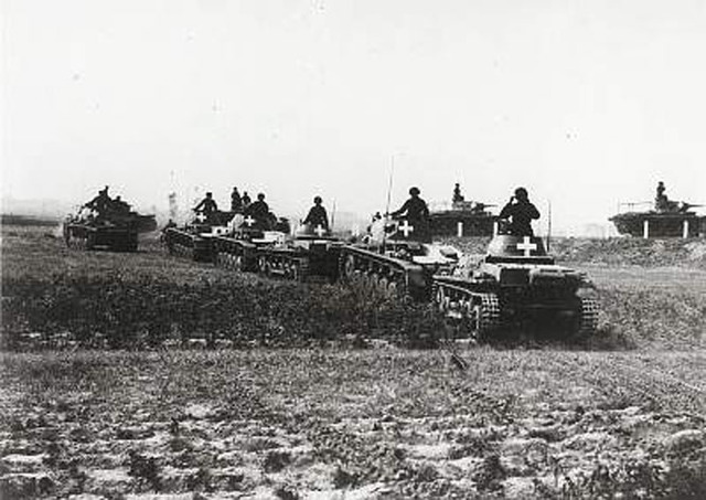 Germany invades Poland; World War II officially begins