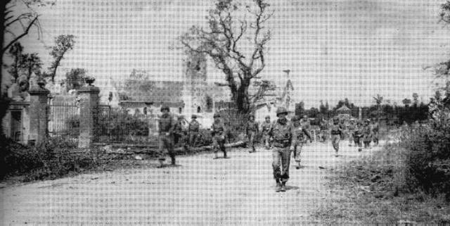 Allies capture St. Lo