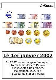 1er janvier : la monnaie officielle devient l'euro.