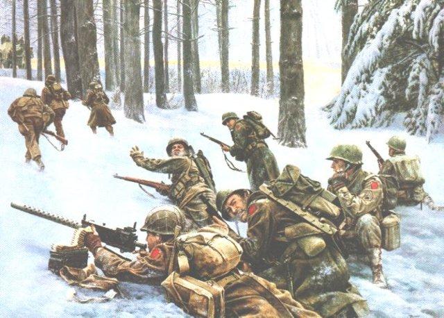 Battle of the Bulge begins