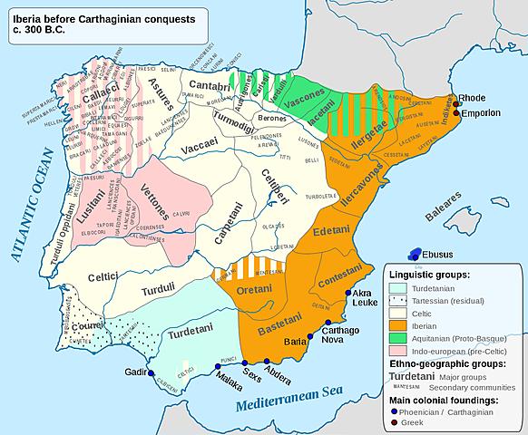 La spagna diventa una provincia romana