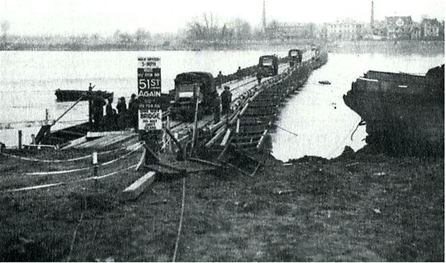 Allies cross bridge at Remagen