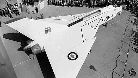 Premier vol de l'Avro Arrow CF-105