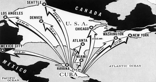 Sovjetiske atomraketter på Cuba
