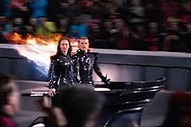 The parade of the 74th hunger games