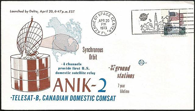 Lancement d'Anik A-2
