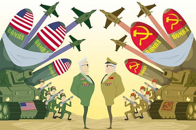 1945- Guerra Fria