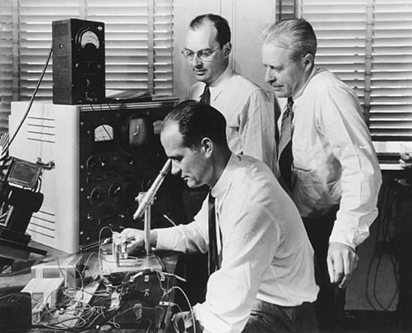 Criação do Transistor