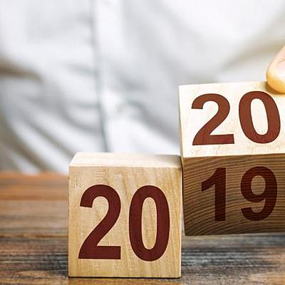 La décennie 2010-2019 timeline