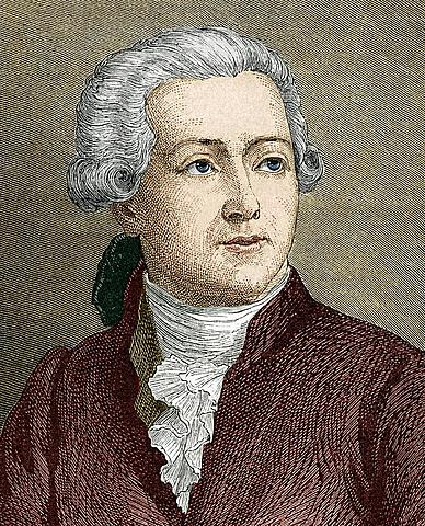 Antoine Lavoisier descubrió la presencia de oxígeno en el aire.