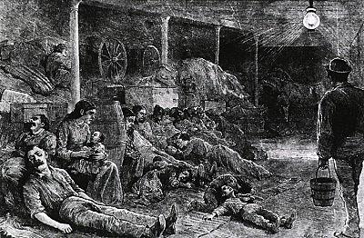 Epidemia de cólera en Marseille y Toulon.