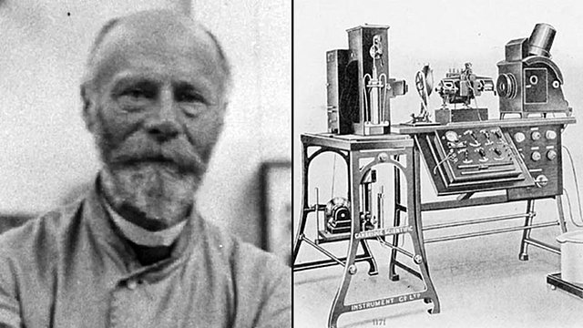 Willem Einthoven inventó el primer electrocardiógrafo.