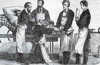 Primeros cirujanos.