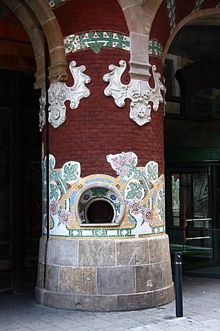 nº 25 (2) Palau de la Música Catalana, Lluis Domènech i Montaner