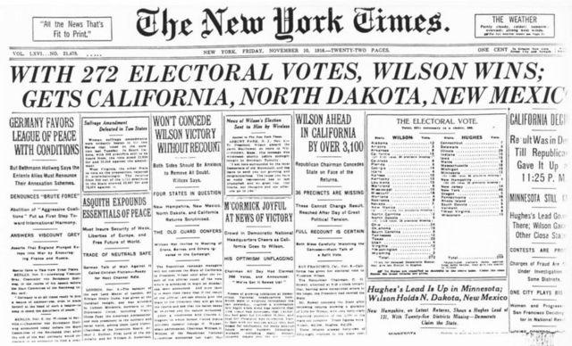 Wilson reelected