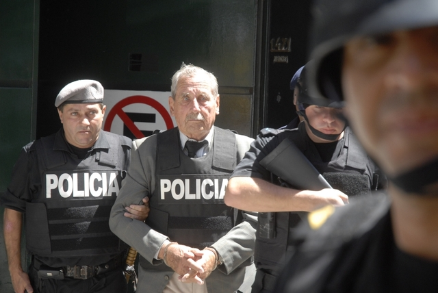 Gregorio Álvarez procesado