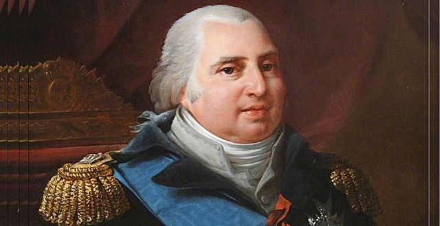 Louis XVIII reigned in France