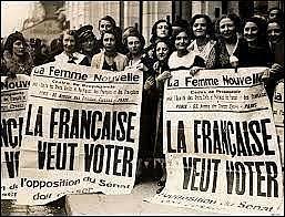 Indipendenza delle donne francesi