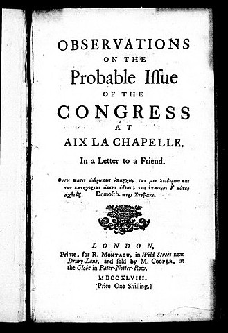 Congress of Aix-La-Chapelle