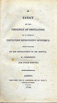Essay on the Principles of Population by Malthus