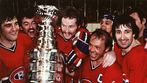 Conquête de la coupe Stanley par le canadien de Montréal