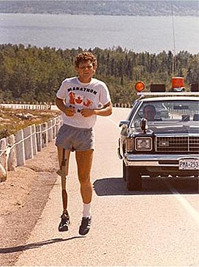Le marathon de Terry Fox