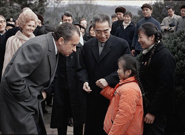President Nixon besøker Kina