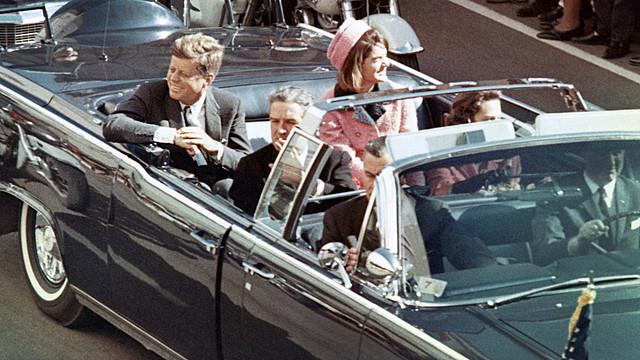 John F. Kennedy ble myrdet