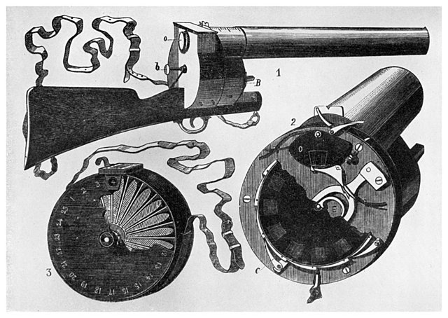 Étienne Jules Marey and the Photographic Gun