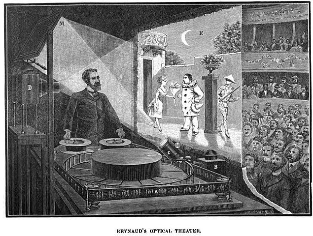 Émile Reynaud and his Praxinoscope