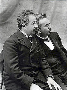 Lumière Brothers and their Cinématographe