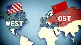 Der Ost-West-Konflikt (1945-1991) timeline