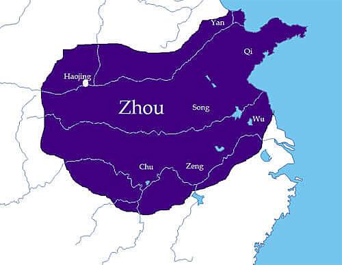Zhou Dynasty Begins {China}