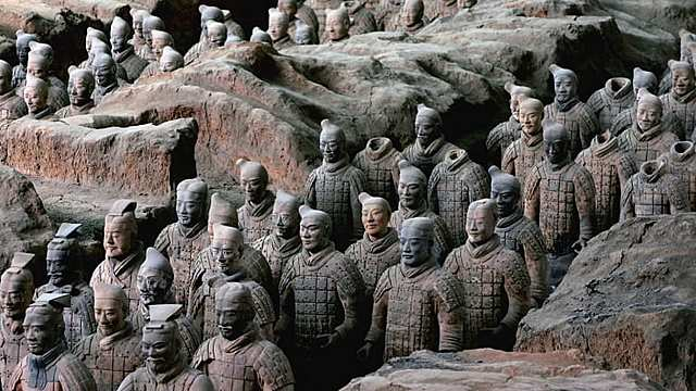Qin Dynasty Ends {China}