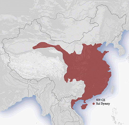 Sui Dynasty Begins {China}