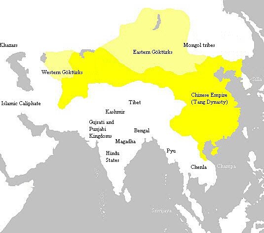Tang Dynasty Ends {China}