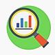 Frecuencia estadística icono