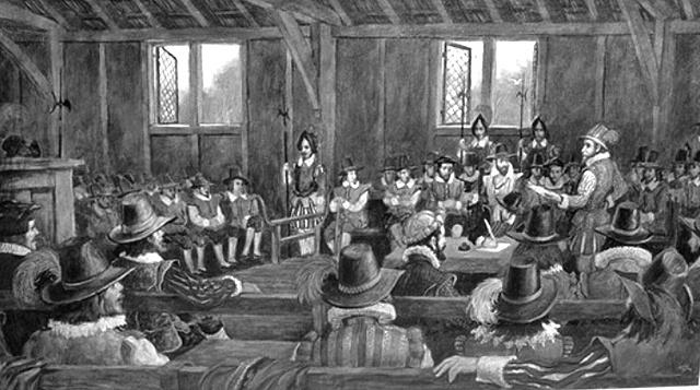 The first legislative government was established.