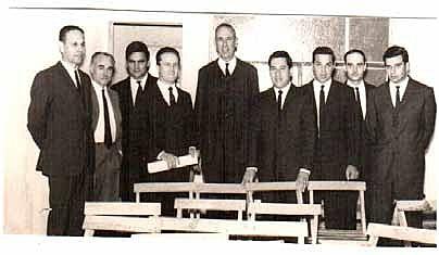 Primeros graduados de la FRRe