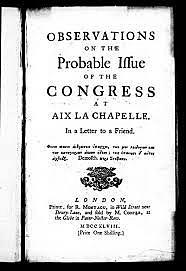 Congress of Aix-La Chapelle